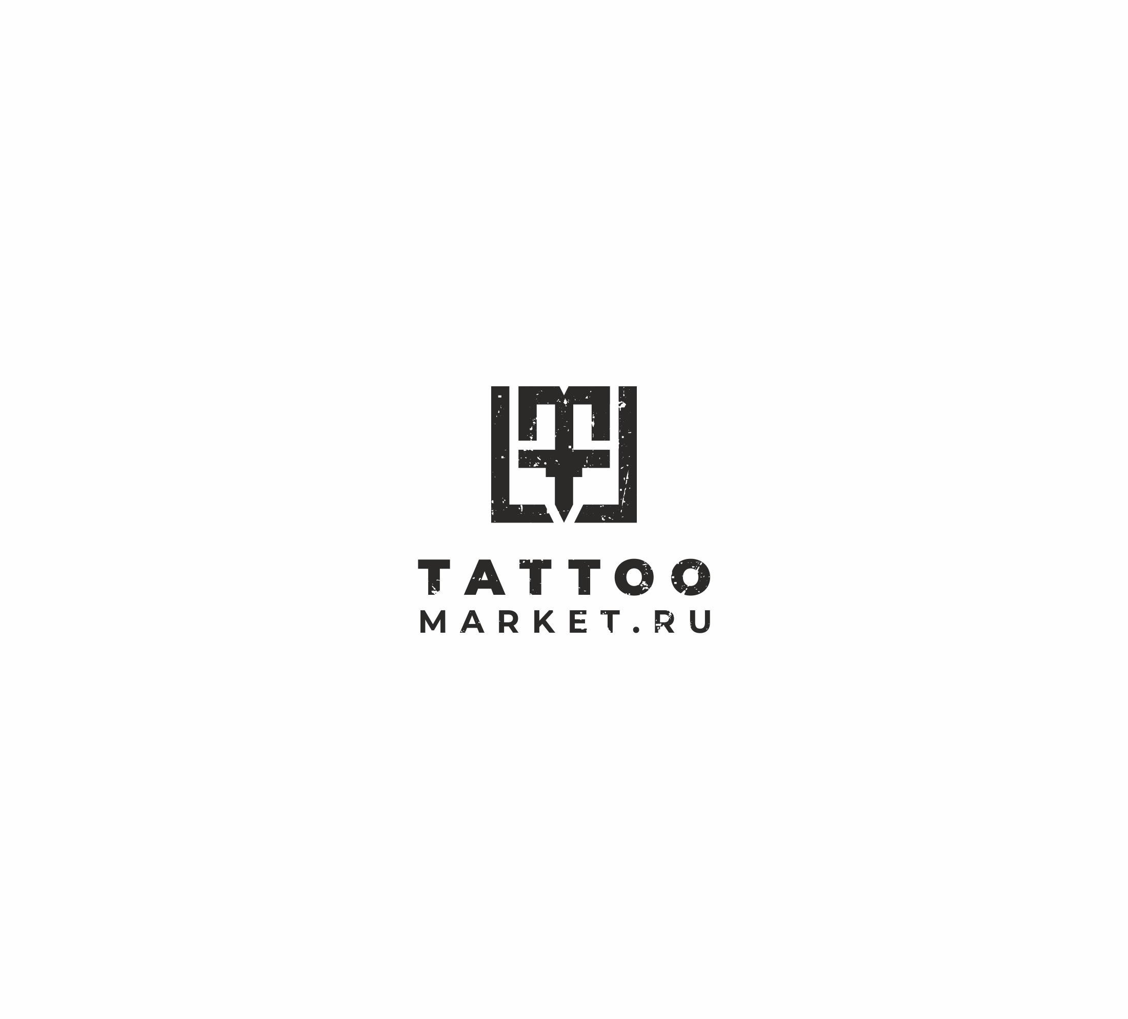 Редизайн логотипа магазина тату оборудования TattooMarket.ru фото f_9485c3c370f98652.jpg