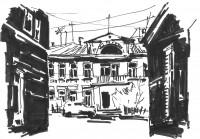 Старый город скетч