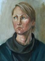 Портрет 2 /Масло