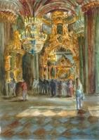 В Петропавловской церкви