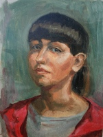 Портрет масло 10