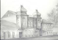 Дом по Вилоновской карандаш