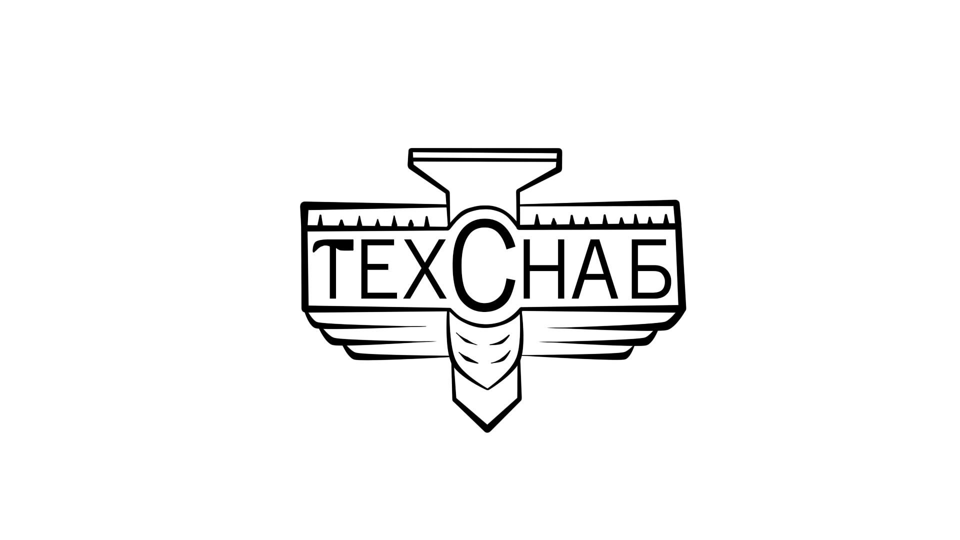 Разработка логотипа и фирм. стиля компании  ТЕХСНАБ фото f_2555b1ee5d5c441c.jpg