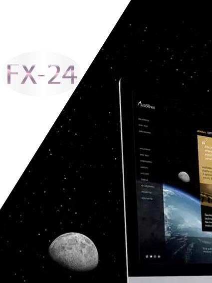 Разработка логотипа компании FX-24 фото f_386545794b7456a1.jpg