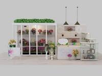 Выполняю яркие дизайн-проекты цветочных магазинов.