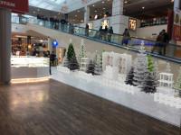 Адаптация праздники в ТЦ торгового пространства