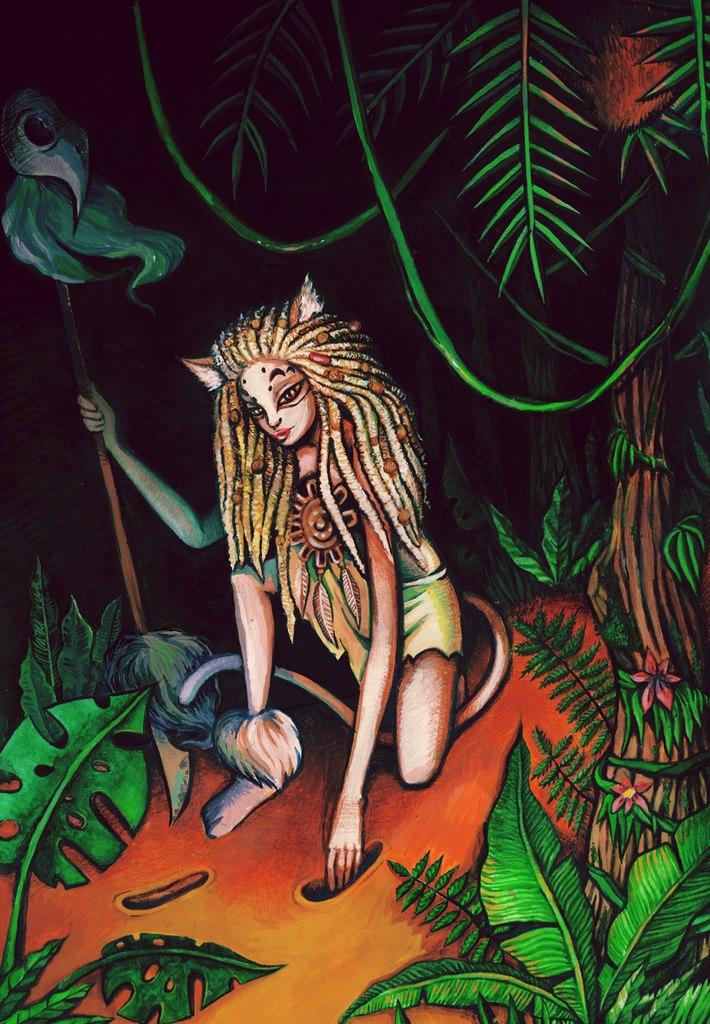 Дыхание древнего леса