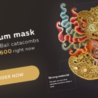 Лендинг Thai Bali Mask