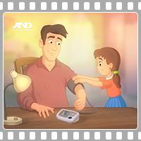 TV ролик - тонометр A&D UA-777