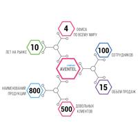 Анимированная HTML таблица для сайта компании Aventel