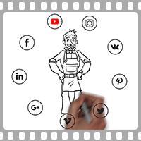 Анимационный ролик для компании SeoPult
