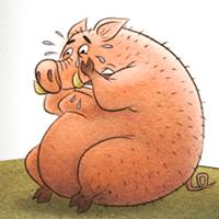 Сказка про свинью, быка и медведя