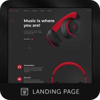 Beats (Промо-сайт)