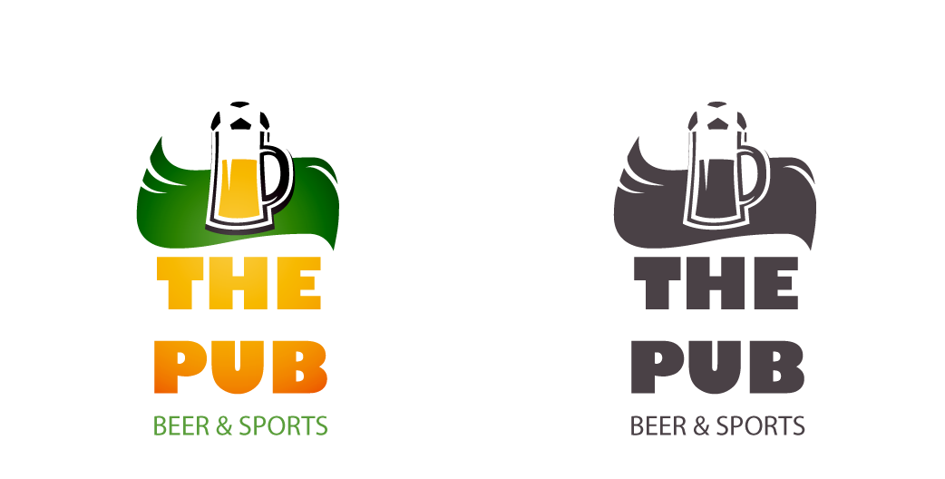 """Разработка логотипа торговой марки """"THEPUB"""" фото f_40451e2a564abb3e.png"""