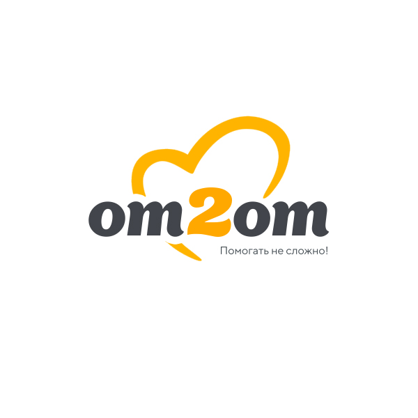 Разработка логотипа для краудфандинговой платформы om2om.md фото f_0535f5b7c97719de.jpg