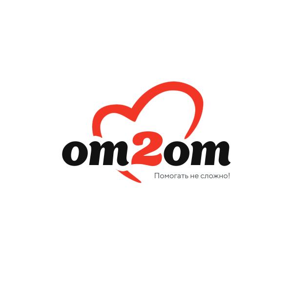 Разработка логотипа для краудфандинговой платформы om2om.md фото f_2335f5b7c9a79f17.jpg