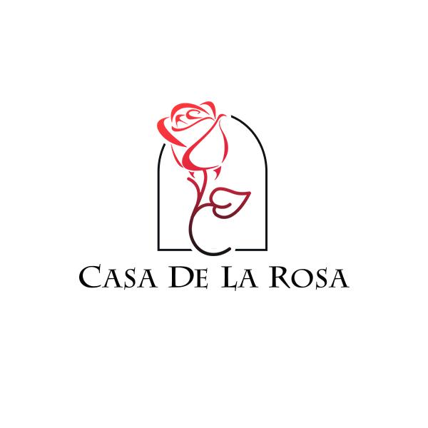 Логотип + Фирменный знак для элитного поселка Casa De La Rosa фото f_4855cd564fba6195.jpg