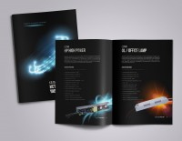 Дизайн каталога, маркетинг кит, дизайн презентации