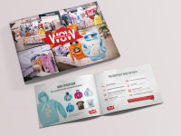 Дизайн маркетинг кит, дизайн презентации для торгового центра
