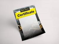 Сертификат / certificate