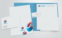 Логотип и фирменный стиль для компании Сансес
