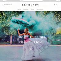 "Верстка сайта ""Betrendy"""