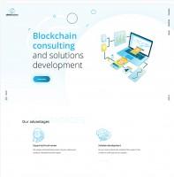"Сайт под ключ для Crypto ICO проекта ""Blockchain Solution"""