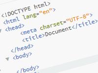 Html5 и css3 вёрстка не сложных страниц или однастраничников
