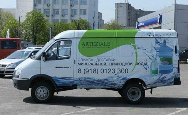 Название торговой марки питьевой воды