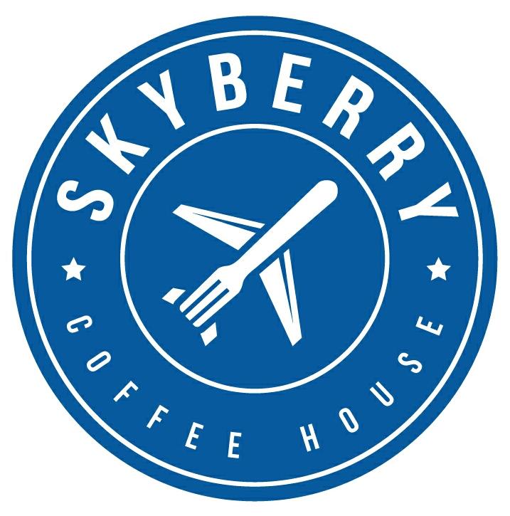 Название и логотип кафе в аэропорту