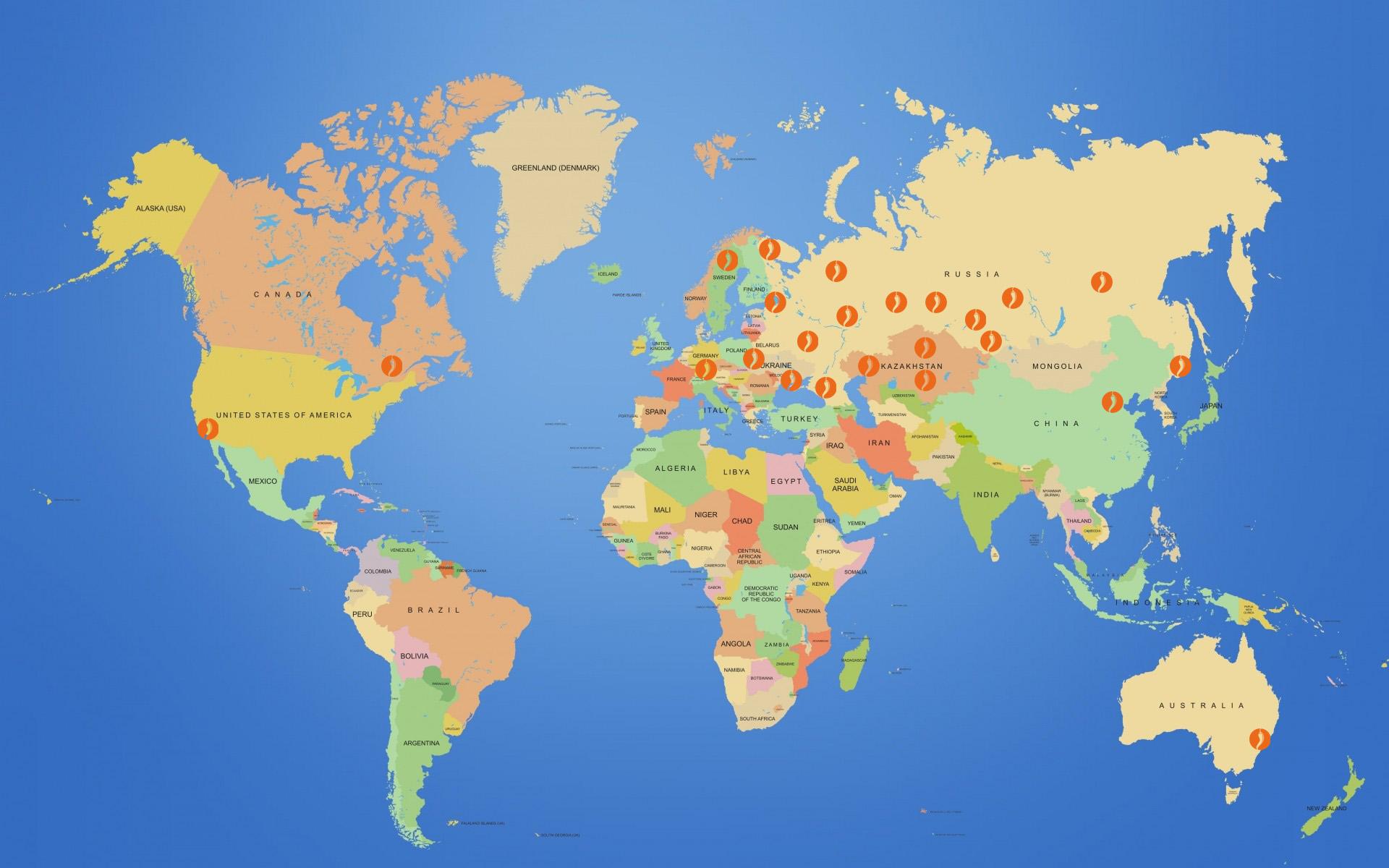 Язык до Киева доведет! Карта моих названий.