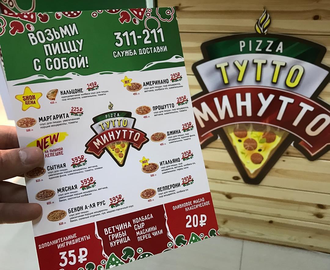 Нейминг доставки пиццы