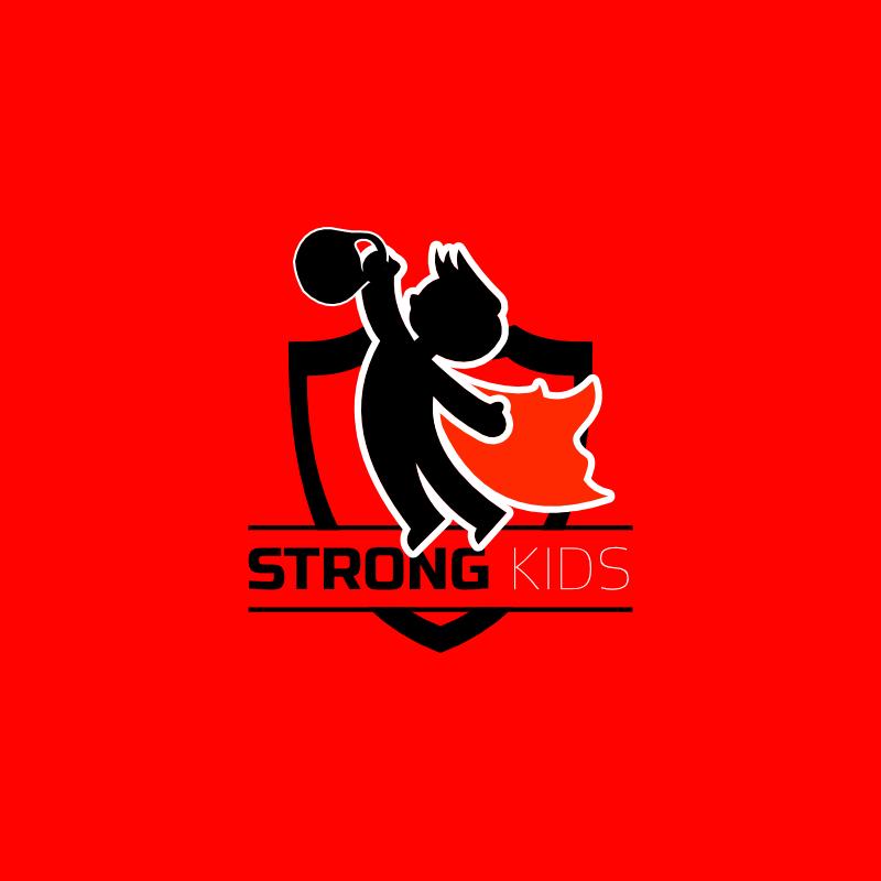Логотип для Детского Интернет Магазина StrongKids фото f_5855c6924ce173af.jpg