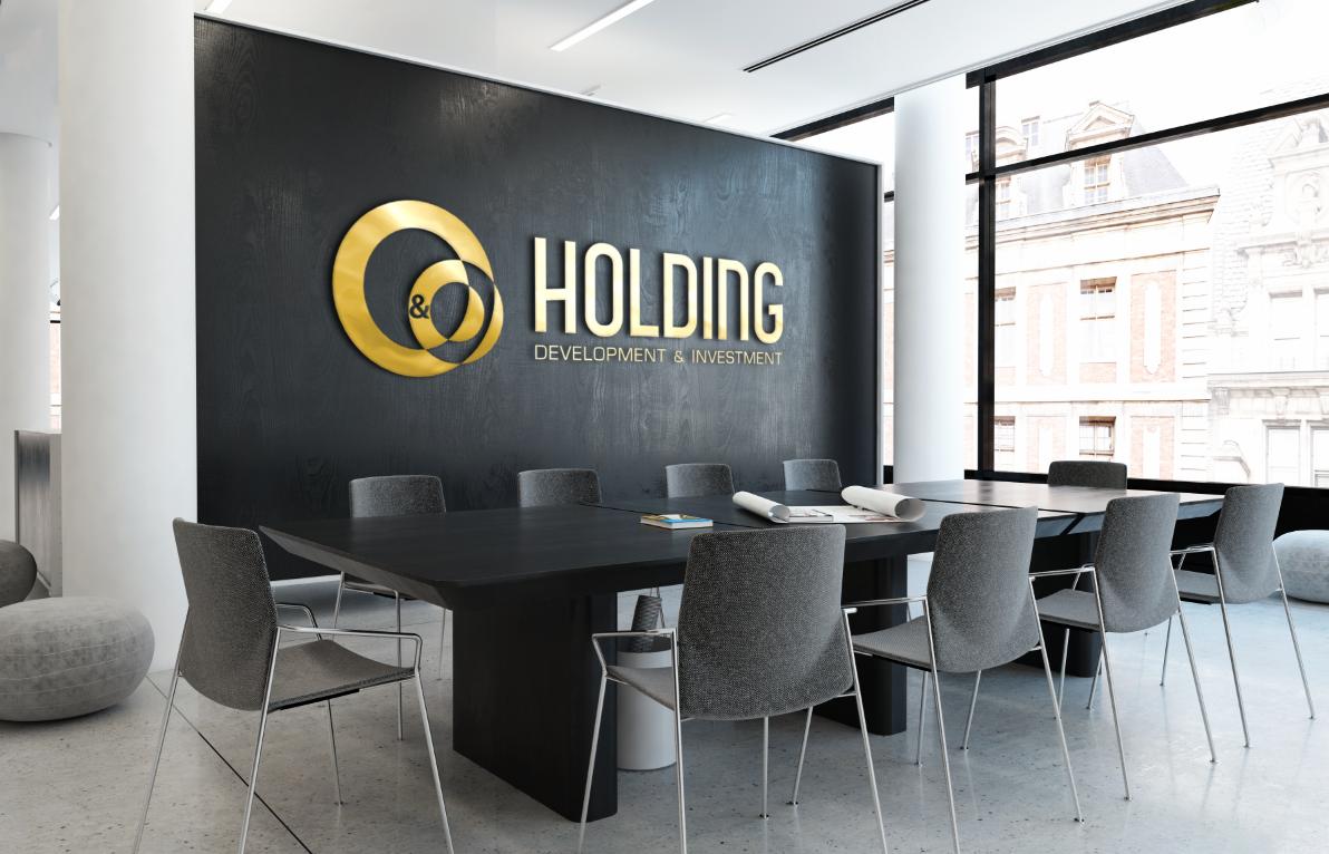 """Разработка Логотипа +  Фирменного знака для компании """"O & O HOLDING"""" фото f_8545c81e55c82beb.png"""