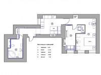 Планировка квартиры и расстановка мебели