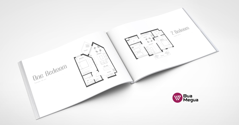 Дизайн каталога формат А3, 80 страниц