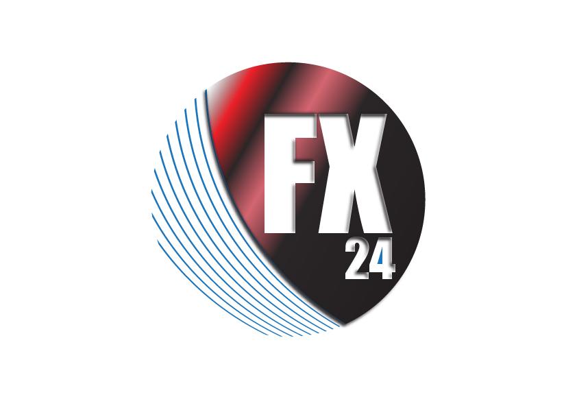 Разработка логотипа компании FX-24 фото f_536545ab9461f3c5.jpg