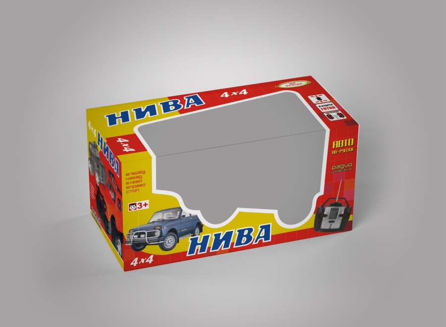 "Коробка ""НИВА RC"""