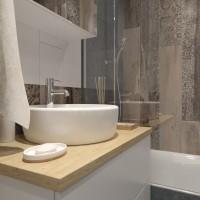 Проект студии, Новокосино, Ванная комната