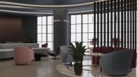 Проект бизнес-зала в аэропорте