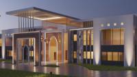 Эскиз резиденции, ОАЭ