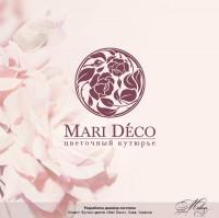 """Логотип флориста """"Mari Deco"""""""