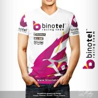 "Дизайн футболки ""Binotel"""