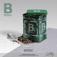 """Дизайн упаковки для чая """"Bereket"""""""