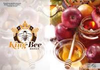 "Логотип мёд ""KingBee"""