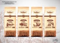 """Дизайн упаковки кофе """"De Marco"""""""