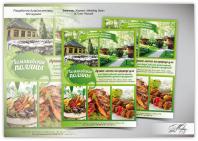 Рекламный модуль в журнал (ресторан).