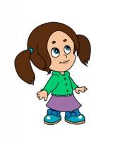 Персонаж для игры  (девочка)