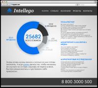 Intellego (верстка главной)