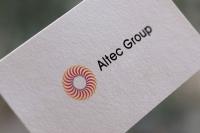 """Логотип компании """"Альтек"""" (в. 2)"""